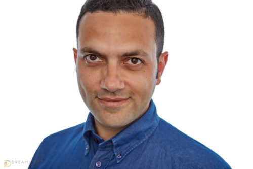 Mahmoud, CTO of Bluecore. Headshot by Paolo Ciccone for DreamLight Images. Charleston SC