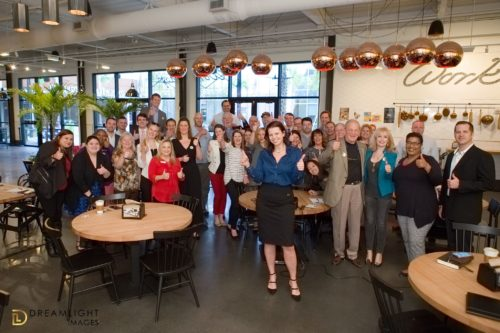 Sales Society Meeting. Event Photograph by DreamLight Images, Charleston Feb 2019.