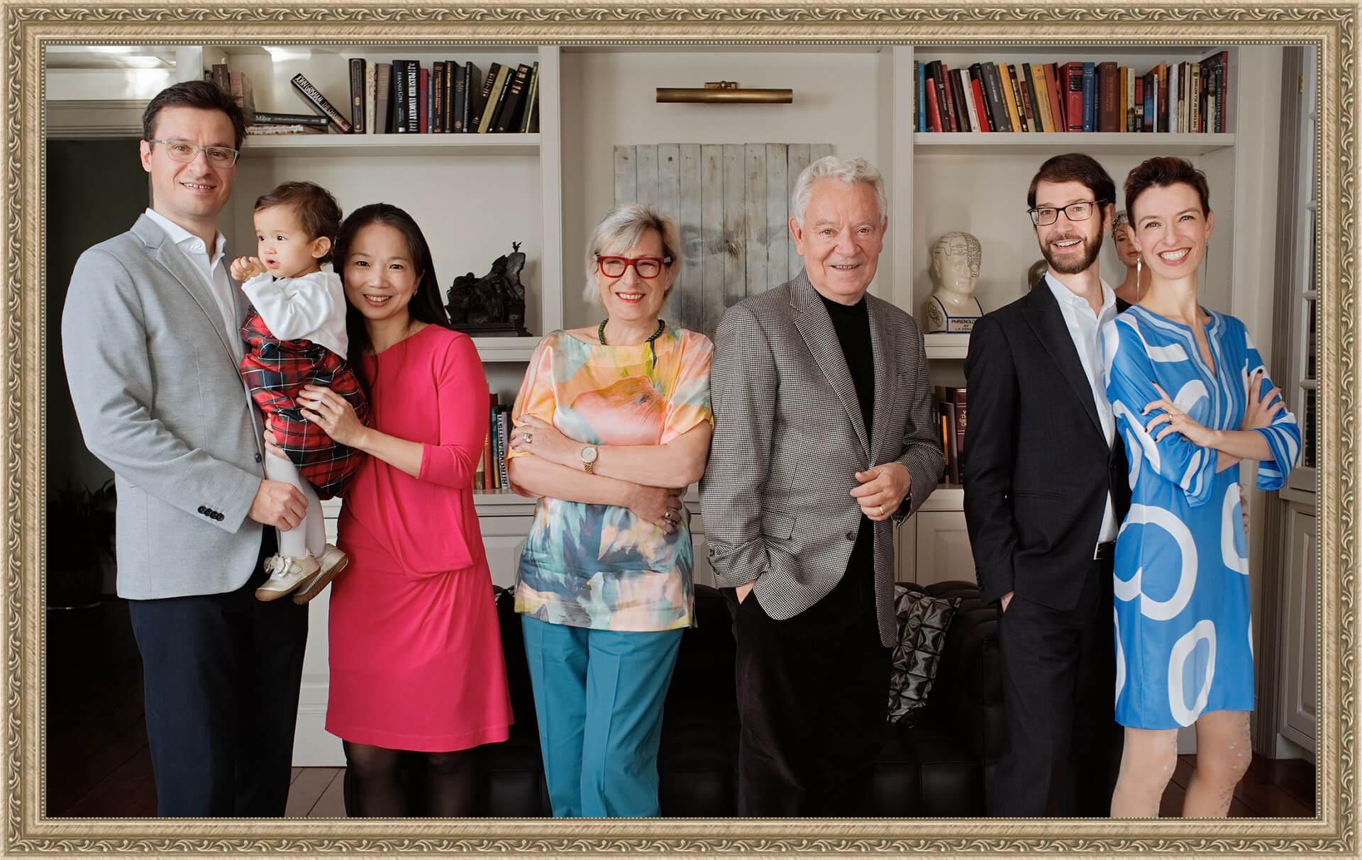 Bob Gebhardt Family, Framed